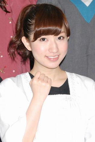 『AKB48美術部展覧会〜額だけ立派ですいません!〜』プレス内覧会に出席したAKB48の片山陽加 (C)ORICON DD inc.