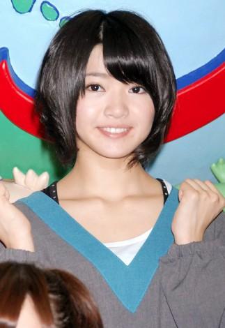 『AKB48美術部展覧会〜額だけ立派ですいません!〜』プレス内覧会に出席したSKE48の矢方美紀 (C)ORICON DD inc.