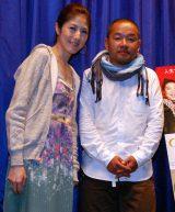 韓国映画『サニー 永遠の仲間たち』でトークショーを行った小島慶子と大根仁監督 (C)ORICON DD inc.