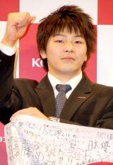 『KONAMI ロンドンオリンピック日本代表選手壮行会』に出席した山室光史選手 (C)ORICON DD inc.