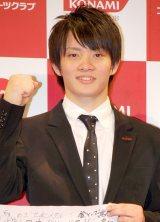 『KONAMI ロンドンオリンピック日本代表選手壮行会』に出席した田中佑典選手 (C)ORICON DD inc.