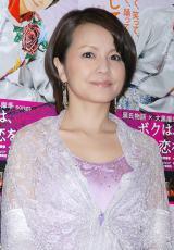 妊娠5ヶ月を発表した中澤裕子 (C)ORICON DD inc.