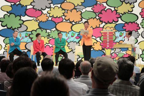 伝説のバラエティ番組『ヤングオーオー』の人気コーナー「あたかも読書」を再現 (C)NHK
