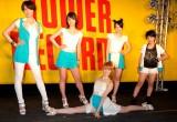 リーダーの松山メアリが見事な開脚を見せた5人組女性ユニットbump.y (C)ORICON DD inc.