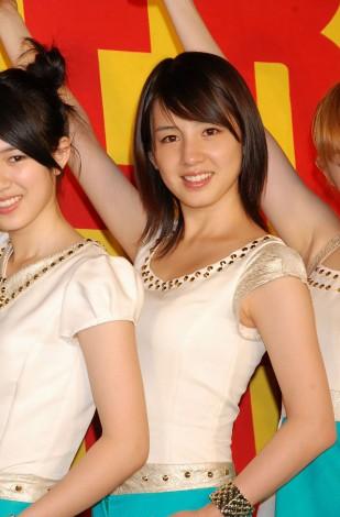 シングル「ガラゲッチャ〜GOTTA GETCHA〜」発売記念イベントを行った5人組女性ユニットの桜庭ななみ (C)ORICON DD inc.