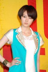 シングル「ガラゲッチャ〜GOTTA GETCHA〜」発売記念イベントを行った5人組女性ユニットの高月彩良 (C)ORICON DD inc.