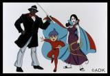 原作となるアニメ『妖怪人間ベム』(左から)べム(亀梨和也)、ベロ(鈴木福)、ベラ(杏)