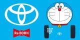 トヨタ自動車企業CMグラフィック画像 (C)藤子プロ・小学館・テレビ朝日・シンエイ・ADK