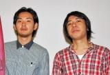 再上映される映画『9souls』の舞台あいさつに登壇した松田龍平(左)と豊田利晃監督 (C)ORICON DD inc.