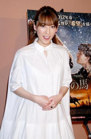 サムネイル 妊娠6ヶ月時の矢沢心 (C)ORICON DD inc.