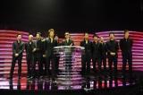 MTVの音楽授賞式『MTV VIDEO MUSIC AWARDS JAPAN(VMAJ)2012』にて「Rising Sun」で最優秀ビデオ賞を受賞したEXILE 写真提供: MTV Networks Japan