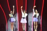 MTVの音楽授賞式『MTV VIDEO MUSIC AWARDS JAPAN(VMAJ)2012』にて最優秀ダンスビデオ賞を受賞したperfume    写真提供: MTV Networks Japan