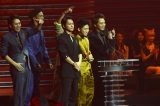 MTVの音楽授賞式『MTV VIDEO MUSIC AWARDS JAPAN(VMAJ)2012』にて最優秀ポップビデオ賞を受賞した三代目 J Soul Brothers 写真提供: MTV Networks Japan