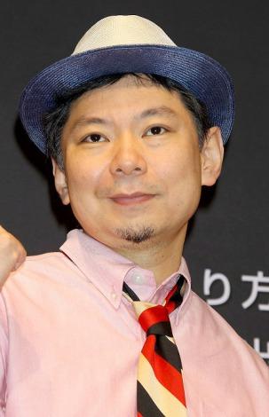 『日産ソーシャルメディアプロジェクト』発表イベントに出席した鈴木おさむ (C)ORICON DD inc.