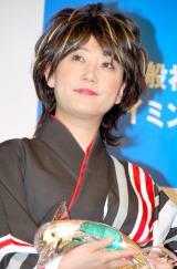 『第13回ベストスイマー2012』表彰式に出席した水谷千重子 (C)ORICON DD inc.