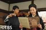 7月9日放送のTBS系ドラマ特別企画『金子みすゞ物語—みんなちがって、みんないい—』に出演する上戸彩(右)と今井翼(左)