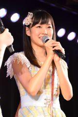 5th「シアターの女神」公演でAKB48チームBのメンバーとして初出演した渡辺美優紀 (C)AKS