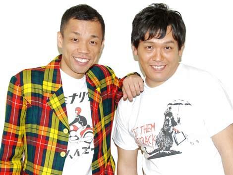 インタビューに応じたCOWCOWの多田健二、山田與志 (C)ORICON DD inc.
