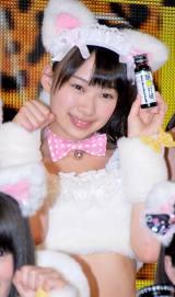 『眠眠打破×NMB48』コラボレーション発表会に出席したNMB48・小笠原茉由 (C)ORICON DD inc.