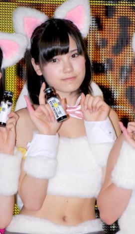 『眠眠打破×NMB48』コラボレーション発表会に出席したNMB48・松田栞 (C)ORICON DD inc.