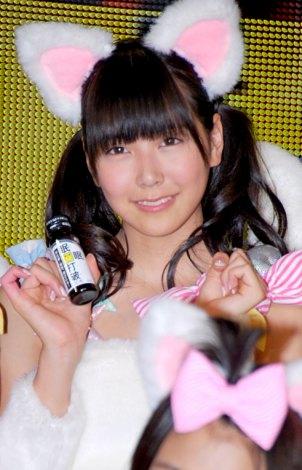 『眠眠打破×NMB48』コラボレーション発表会に出席したNMB48・白間美瑠 (C)ORICON DD inc.