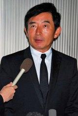 小野ヤスシさんの通夜に参列した石田純一 (C)ORICON DD inc.