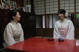 約130年前に建てられた京町家で「西陣くらしの美術館 冨田屋」を営む女将さんと(C)関西テレビ
