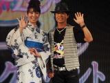 『美少女戦士セーラームーン』20周年記念イベントに登場した三石琴乃(左)と古谷徹(左) (C)ORICON DD inc.