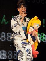 『美少女戦士セーラームーン』20周年記念イベントに登場した三石琴乃 (C)ORICON DD inc.