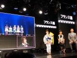 『美少女戦士セーラームーン』20周年記念イベントに、フランス・パリから生中継参加したももいろクローバーZ (C)ORICON DD inc.