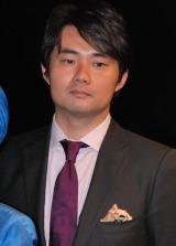 映画『女優』完成披露発表会に出席した杉村太蔵 (C)ORICON DD inc.