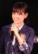 体調不良のなかAKB48の劇場公演に参加したAKB48・前田敦子(C)AKS