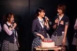 AKB48劇場で行われた前田敦子生誕祭の模様(C)AKS