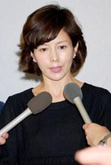 山田五十鈴さんの通夜に参列した沢口靖子 (C)ORICON DD inc.
