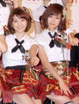 誕生日を迎えた前田敦子(右)にコメントを寄せた大島優子 (C)ORICON DD inc.