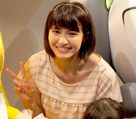 「メロエッタのキラキラリサイタル」上映会で舞台あいさつに登場した声優の中島愛 (C)ORICON DD inc.