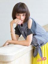 読者参加型アイドル発掘プロジェクト『ミスiD(アイドル)2013』の初代グランプリに輝いた玉城ティナ(14)