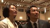 競泳バタフライの金田和也と母・幸子さん(C)MBS