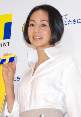『子どもたちの遊び場をつくろう』記者発表会に出席した中村江里子 (C)ORICON DD inc.