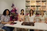 7月17日放送の『キャサリン』のゲストは(右から)オセロ・松嶋尚美、木下優樹菜、SHIHO、MCはピース・又吉直樹(C)関西テレビ