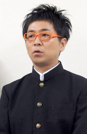 CDデビュー前に会見を行ったパンクブーブー・黒瀬純 (C)ORICON DD inc.