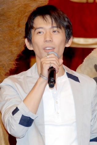 映画『マダガスカル3』と『2012国立ボリショイ動物サーカス』の初コラボイベントに出席した岡田義徳 (C)ORICON DD inc.