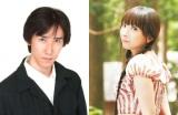 ドラマ『ラブレイン』でチャン・グンソクの吹替えを担当する平川大輔(左)、同じくユナの堀江由衣(右)