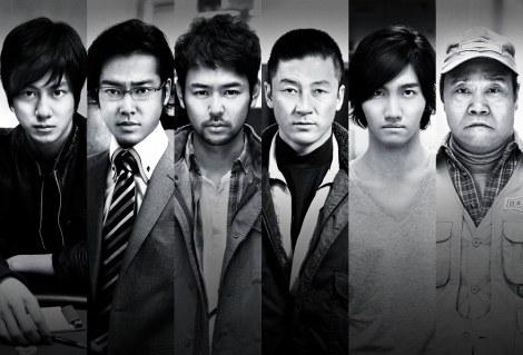 『黄金を抱いて翔べ』(11月3日公開)主要キャスト (c)2012「黄金を抱いて翔べ」製作委員会