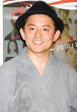 舞台『浮遊するfitしない者達』の公開けいこに出席したスピードワゴン・井戸田潤 (C)ORICON DD inc.
