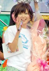中野美奈子アナ、満面の笑みでフジ仕事納め