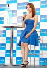 スターライトシネマ2012『Blue Oasis Bar』オープニングイベントに出席した眞鍋かをり (C)ORICON DD inc.