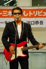 三木たかしさんのトリビュート・アルバム『もしも明日が』発売記念イベントに出席したレーモンド松屋 (C)ORICON DD inc.