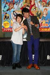 人気アニメ『ワンピース』の主人公ルフィ役の声優・田中真弓と