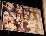 写真展『I,Tominaga 15th Anniversary』開催記念トークショーでお披露目された7歳の長男との2ショット写真 (C)ORICON DD inc.
